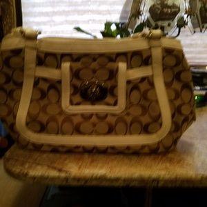 Used coach satchel purse